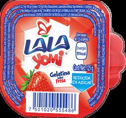 Gelatina de Agua Yomi Sabor Fresa 125 g