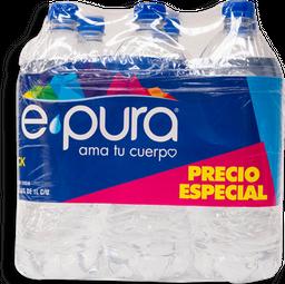 Agua Epura 1 L x 6