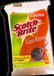 Fibra Esponja Scotch Brite Cero Rayas Bolsa 1 U