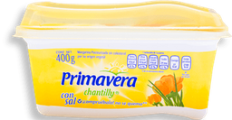 Margarina Primavera Chantilly Con Sal Untable 400 g