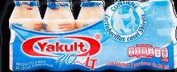Bebida Láctea Yakult Sin Azúcar  80 mL x 5