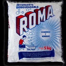 Detergente En Polvo Roma Multiusos Biodegradable 5 Kg