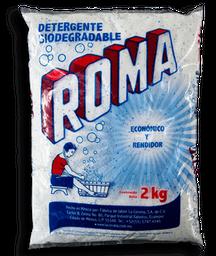 Detergente Roma en Polvo 2 Kg