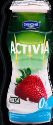 Yoghurt Activia Bebible Fresa 0% 240 g