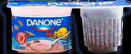Yoghurt Danone Mix Sabor Fresa con Cereal de Chocolate 130 g