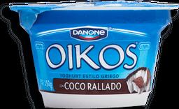 Yoghurt Oikos Estilo Griego Con Coco Rallado 150 g