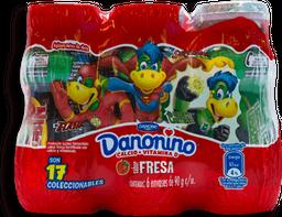 Yoghurt Bebible Danonino Fresa 90 g x 6