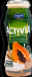 Yoghurt Bebible Actibia Sabor Papaya y Cereales 240 g