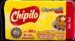 Mantequilla Chipilo sin Sal 500 g