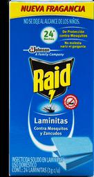 Insecticida Raid Laminitas 24 U