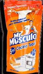 Limpiador Líquido Mr. Músculo Cocina Total Aroma Naranja 500 mL