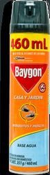 Insecticida Baygon Casa y Jardín Aerosol 400 mL