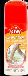 Limpiador Kiwi Para Pieles de Ante y Gamusa 120 g