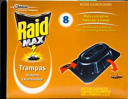 Trampa Raid Max Para Cucarachas 8 U