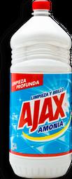 Líquido Limpiador Ajax Amonía 2 L