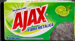 Fibra Metálica Ajax Limón 5 U