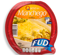 Queso Manchego Fud 400 g