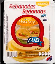 Queso Manchego Fud Rebanadas 190 g