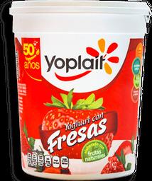 Yoghurt Yoplait Con Fresa 1 Kg