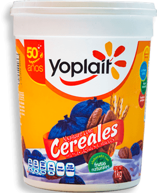 Yoplait Yoghurt Moras Nueces y Cereales