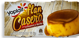 Flan Yoplait Casero 110 g x 2