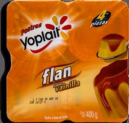 Flan Yoplait Sabor Vainilla 100 g x 4