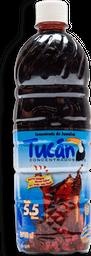 Jarabe Para Agua Tucán Sabor Jamaica Botella 750 mL