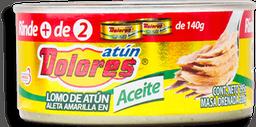 Lomo de Atún Dolores Aleta Amarilla en Aceite 295 g
