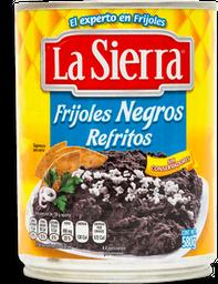 Frijoles La Sierra Negros Refritos 580 g