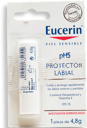 Protector Eucerin Labial Ph5 Piel Sensible Fps 15 4.8 g