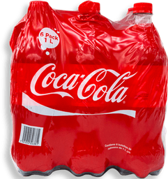 Refresco Coca-Cola Regular Botella 1 L x 6