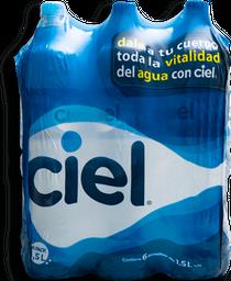 Agua Ciel Natural 1.5 L x 6