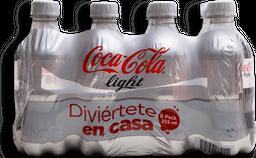 Refresco Coca-Cola Light Botella 355 mL x 8