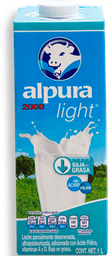 Leche Alpura 2000 Light 1 L