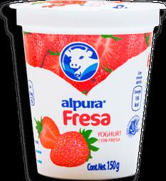 Yoghurt Alpura con Fresa 150 g