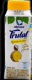 Leche Alpura Frutal Sabor Piña Coco 250 mL