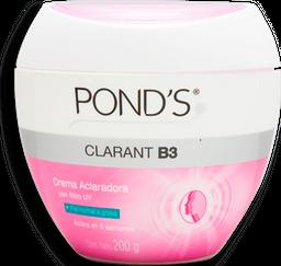 Crema Ponds Clarant B3 Facial Piel Normal y Grasa 200 g