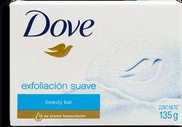 Jabón de Tocador Dove Exfoliación Suave 135 g