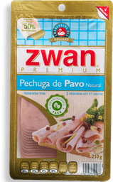 Pechuga de Pavo Zwan Premium Natural 250 g
