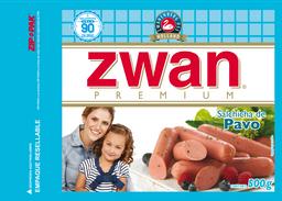 Salchicha Zwan Pavo 500 g