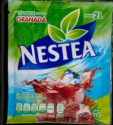 Polvo Para Bebida Nestea Té Verde Sabor Granada Sobre 25 g