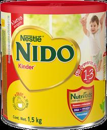 Leche Nido Kinder en Polvo 1 a 3 Años 1.5 Kg
