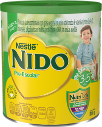 Producto Lácteo Nido Pre-Escolar en Polvo 3 a 5 Años 800 g
