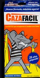 Trampa Cazafacil Para Ratas de Pegamento 2 U