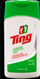 Talco Ting Antimicótico Para Pie de Atleta 85 g