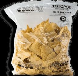 Totopos Chedraui Natural 500 g