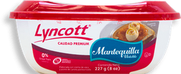 Mantequilla Lyncott con Sal Untable 227 g