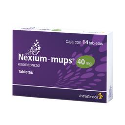 50% descuento en 2 unidad Nexium-mups (40 mg)