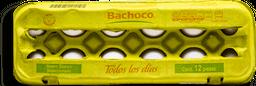 Huevo Bachoco Blanco 12 U