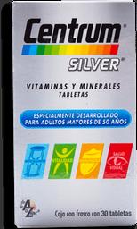 Multivitamínico Centrum Silver 30 Tabletas
